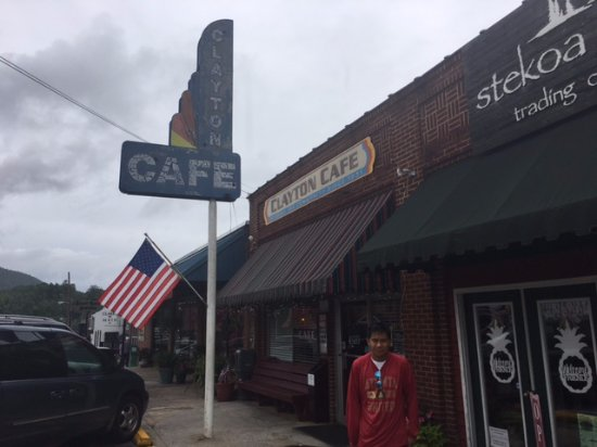 Clayton Cafe: Very Great Place -and Food