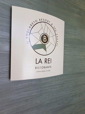 Serralunga d'Alba, Italy: Targa ''La Rei Ristorante''