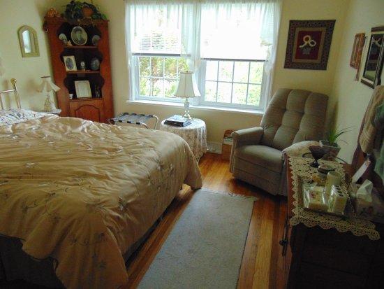 Lavigne's Gourmet B&B: De slaapkamer.