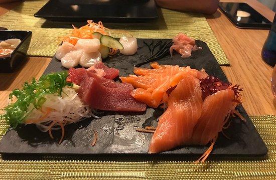 Sashimi3 fotograf a de restaurante japones umai benidorm for Restaurante japones alicante