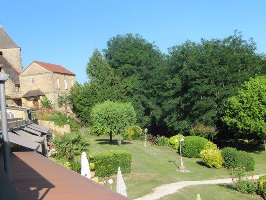 Tamnies, Frankrig: vue sur parc
