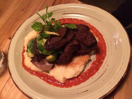 Redcliff Restaurant & Bar : Bochecha de boi com purê
