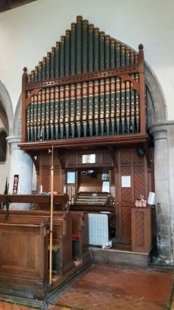 Sittingbourne, UK: St Michael's church Organ