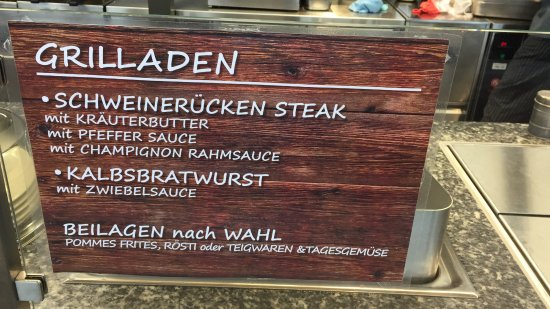 Bettmeralp, Switzerland: Auch vom Grill gibt es feines