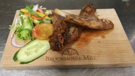 Denbigh, UK: Some selections from the new menu at Brookhouse