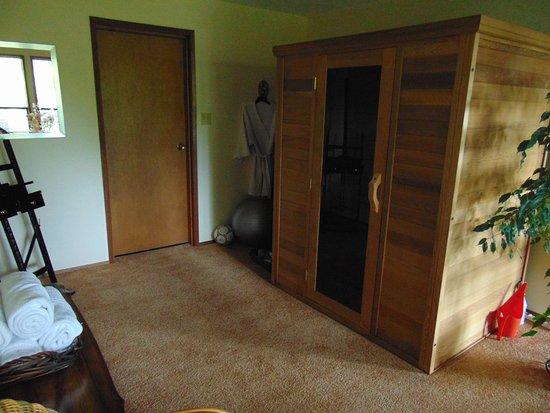 Courtenay, كندا: incl. de sauna.