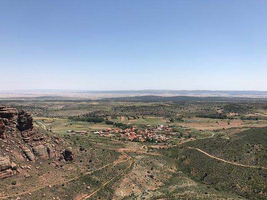 Provincia de Teruel, España: Blick auf Peracense