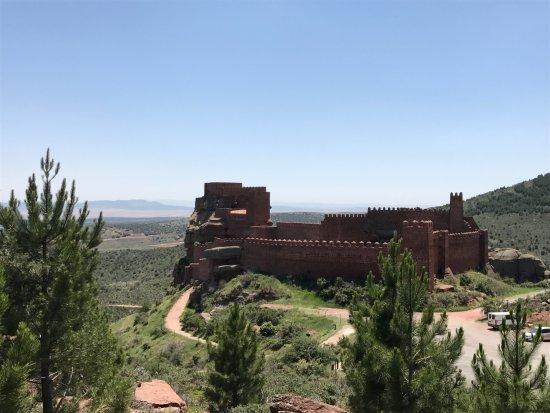 Provincia de Teruel, España: komplette Burganlage
