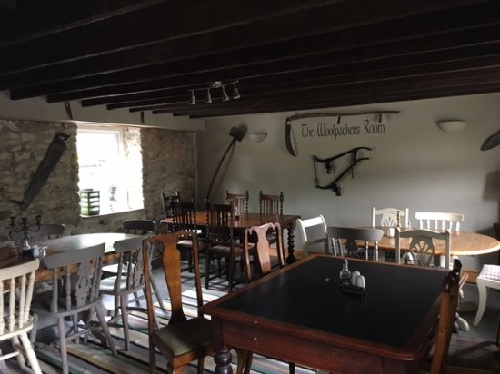 Brechfa, UK: One of the dinning areas