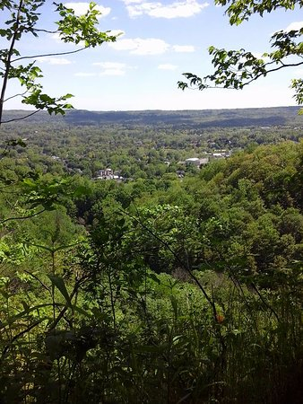 Tews Falls: The Dundas lookout