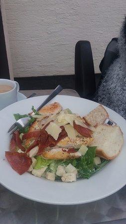 Rawtenstall, UK: great caesar salad