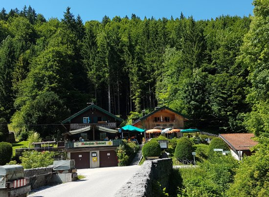 Jachenau, Allemagne : Waldschänke Niedernach
