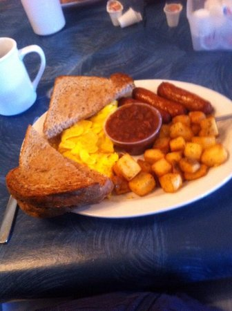 At The Crossroads Family Restaurant Ltd.: Breakfast special