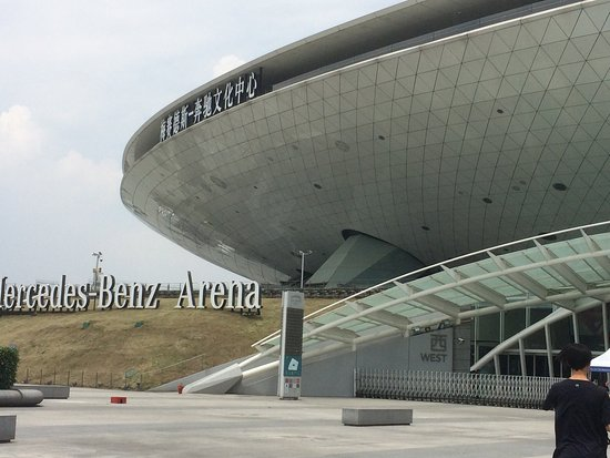 mercedes benz arena shanghai china top tips before you go with photos tripadvisor. Black Bedroom Furniture Sets. Home Design Ideas