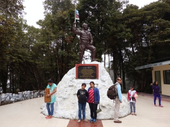 Himalayan Mountaineering Institute: Tenzing Norgay's victory over Everest memorial