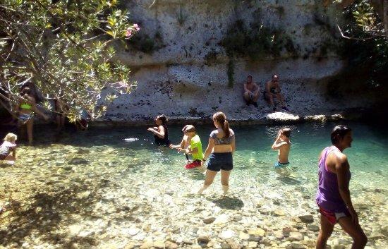 Sortino, Italy: visita alla valle dell'Anapo