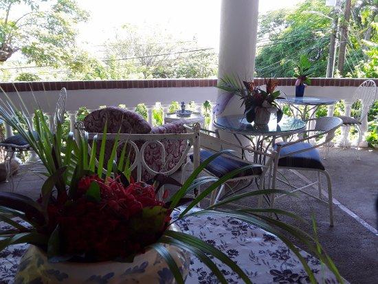 Hotel Villa Casa Blanca: Breakfast views