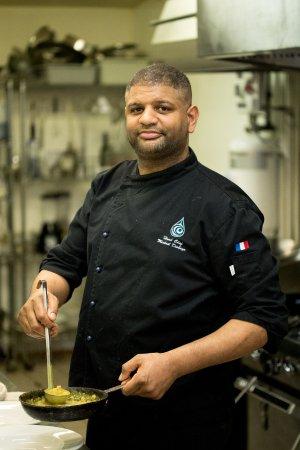 Tlell, Canadá: Chef Mickaël Diabaye