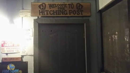 Hitching Post: Entrance