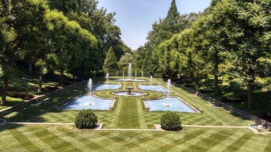 Italian Garden Picture Of Longwood Gardens Kennett Square Tripadvisor