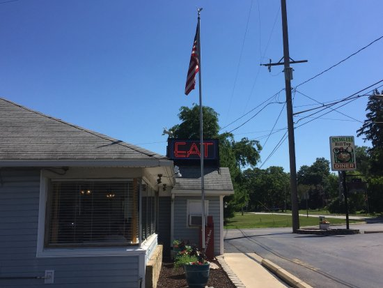 Jonesville, MI: Spangler's Hilltop Diner