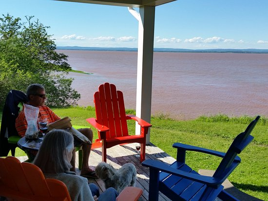 Maitland, Canada: View from the front porch in the afternoon (tide was high)