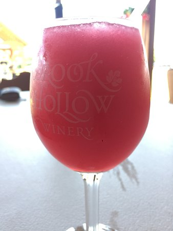 Columbia, NJ: Wine Slushee
