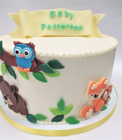 Flavor Cupcakery Bake Shop Baby Shower Cake