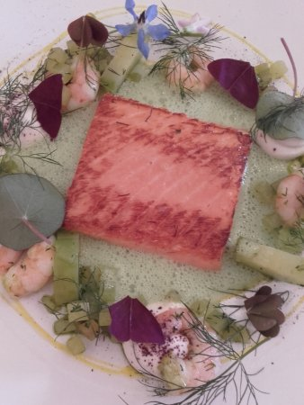 This salmon dish is definitely summer on a plate-delicious
