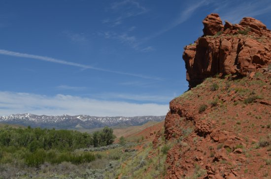 The Lazy L&B Ranch : View from horseback