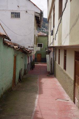Casa Hospedaje Hatun Quilla : cortile