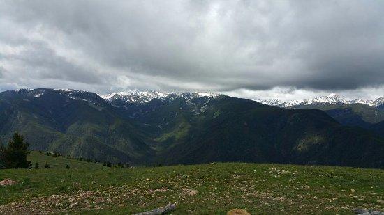 Gallatin Gateway, MT: View from top of Garnet Mountain