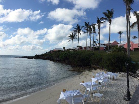Breezes Restaurant Picture Of Cambridge Beaches Sandys