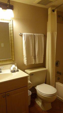 Orbit One Vacation Villas: Segundo banheiro.