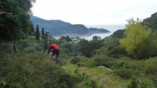 Skopelos Cycling : Great views!