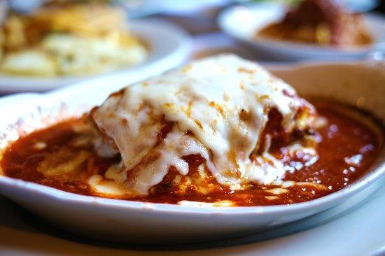 Mario's Restaurant & Pizzeria: Homemade Lasagna