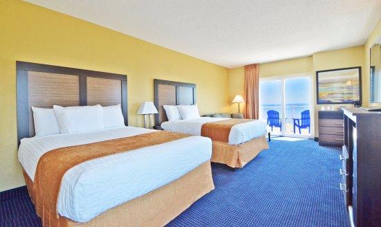 Crystal Beach Hotel: Premium Ocean View in Baltimore Building