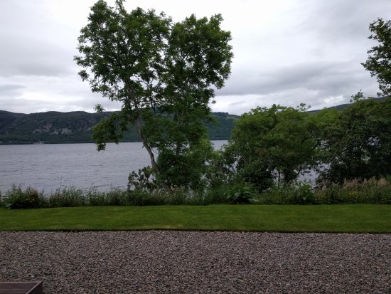 Dores, UK: View of the grounds