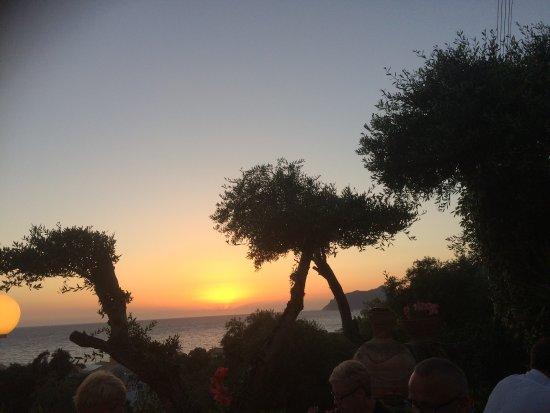 Stevens on the Hill: Sunset