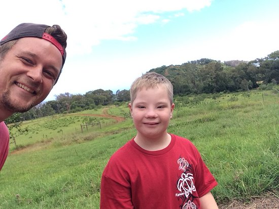 Makawao, HI: Max and my son