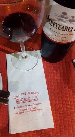 Restaurante Morilla: great wine