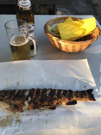 Fischbrathuette in der Fischerbucht: Lekker!!