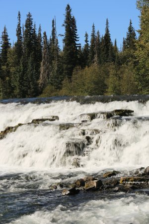 Meziadin Junction, Canadá: one of the beautiful waterfalls