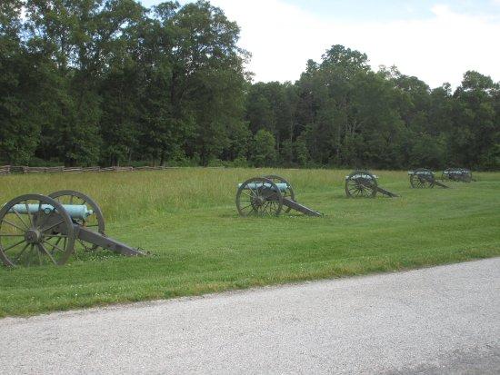 Garfield, AR: Grounds of Pea Ridge National Military Park
