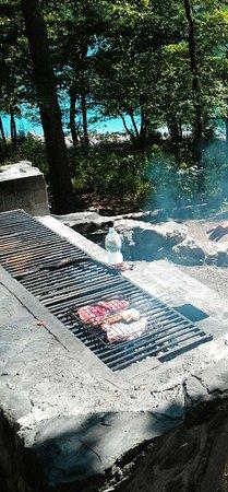 إميليا رومانيا, إيطاليا: una grigliata vicino al lago di suviana...
