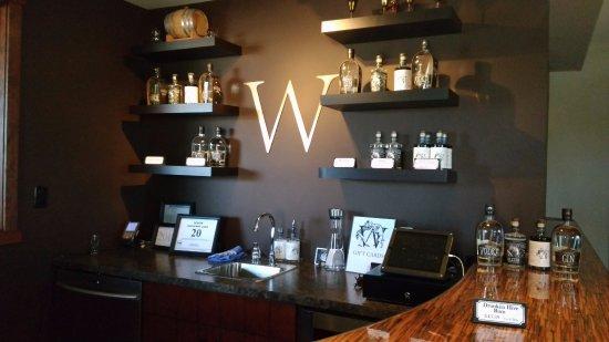 Courtenay, Canadá: tasting room