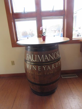 Paumanok Vineyards: Quaint winery on the North Fork