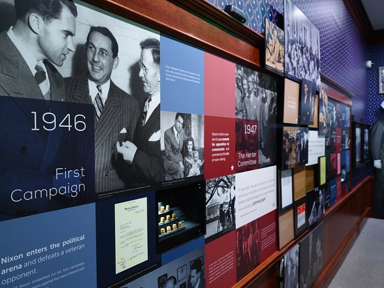 Yorba Linda, CA: See Richard Nixon's rise to the presidency