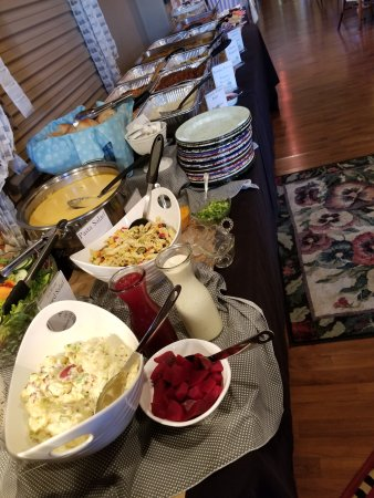 Belton, MO: Assorted Salads on Brunch buffet, 2nd Sunday of each month