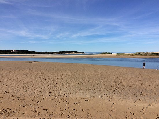 Saint Francis Bay, Sydafrika: Low tide just across the road from i-Lollo in the Kromrivier